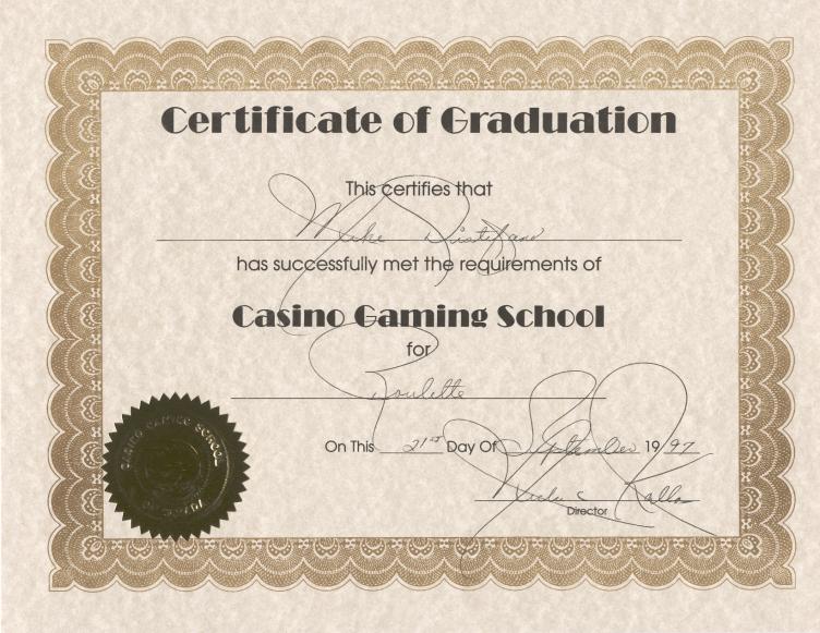 Casino certification casino in albuquerque